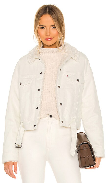 Cozy Cocoon Sherpa Trucker Jacket LEVI'S $148 NEW