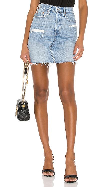 High Rise Deconstructed Skirt LEVI'S $80 BEST SELLER