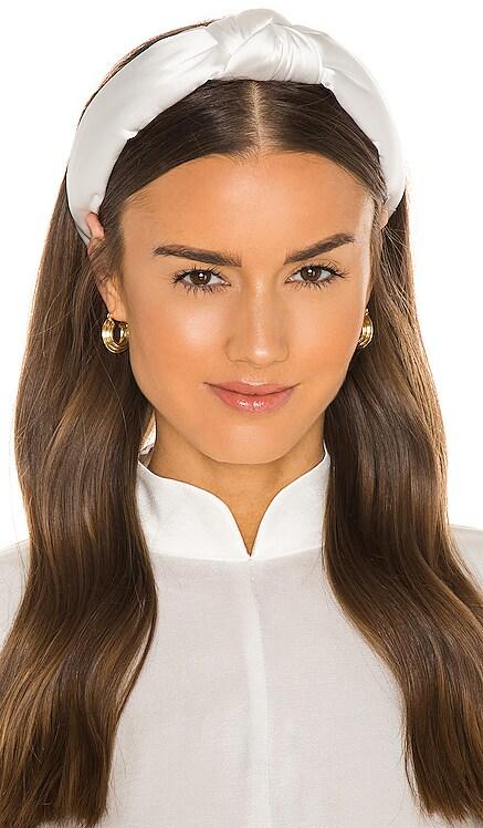 Silk Knotted Headband Lele Sadoughi $65 NEW