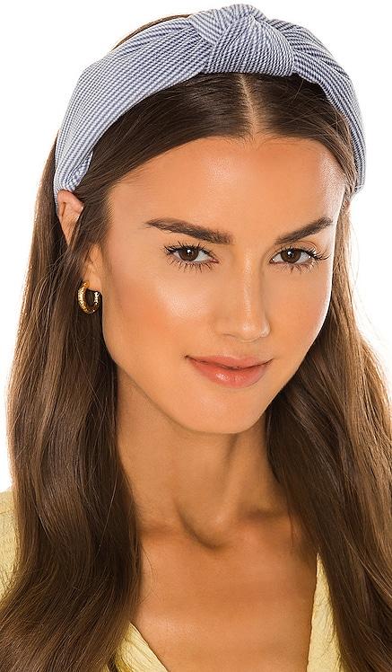 Soft Waffle Knotted Headband Lele Sadoughi $65