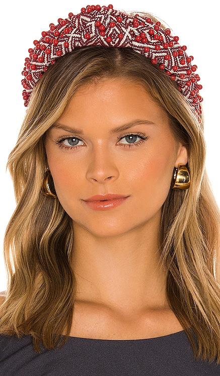 Beaded Knotted Headband Lele Sadoughi $150