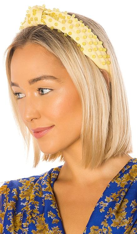 Beaded Woven Headband Lele Sadoughi $150