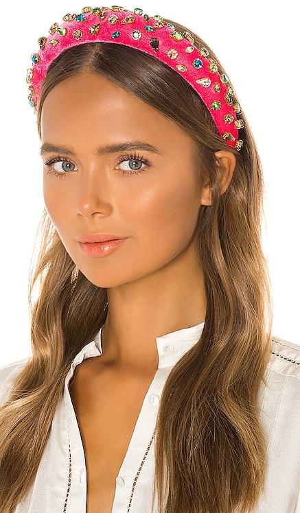 Padded Candy Jeweled Headband Lele Sadoughi $198