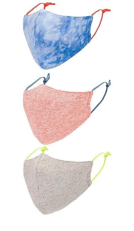 Set of 3 Face Masks Lele Sadoughi $40 (Rebajas sin devolución) NUEVO