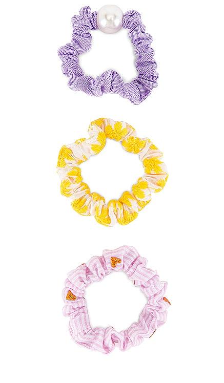 Set of 3 Scrunchies Lele Sadoughi $32 NEW