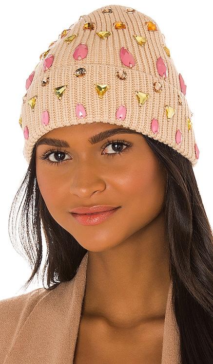 Mixed Jeweled Beanie Lele Sadoughi $175