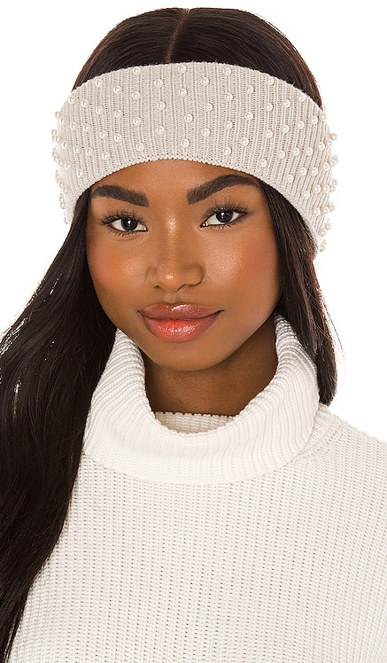 Knit Pearl Ear Warmer Lele Sadoughi $125