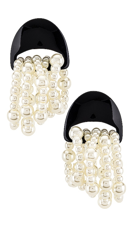 Jellyfish Pearl Earrings Lele Sadoughi $165