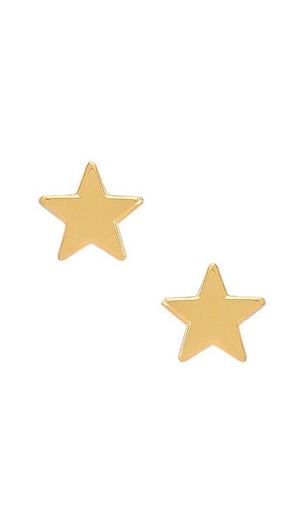 Ashford Star Stud Earrings Lele Sadoughi $45 NEW