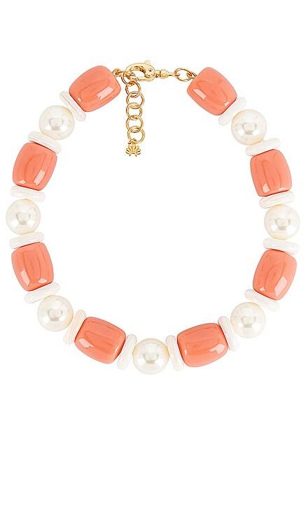 Monaco Coral Necklace Lele Sadoughi $245