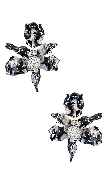 Crystal Lily Earrings Lele Sadoughi $195