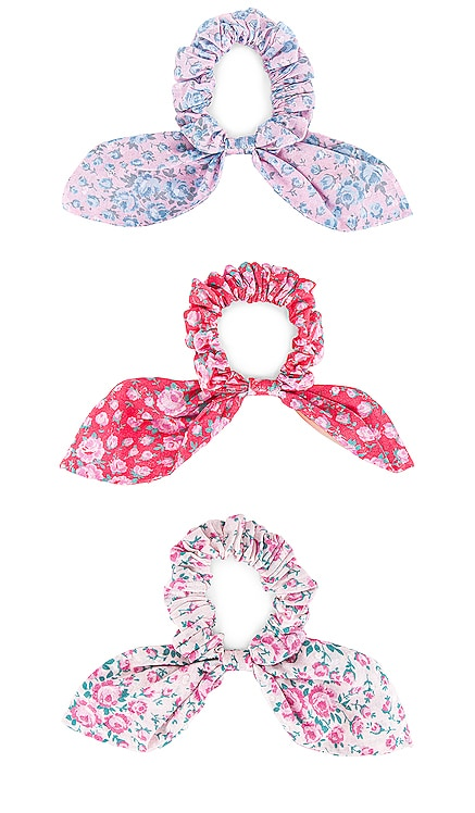 Cavendish Morning Scrunchies LoveShackFancy $55 NEW
