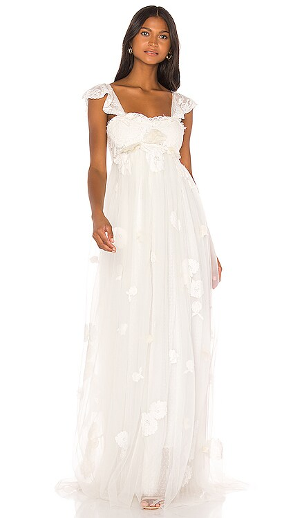 Irene Gown LoveShackFancy $1,195 Wedding