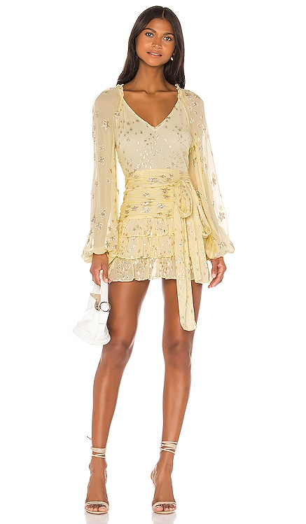 ROBE COURTE RINA LoveShackFancy $525 BEST SELLER