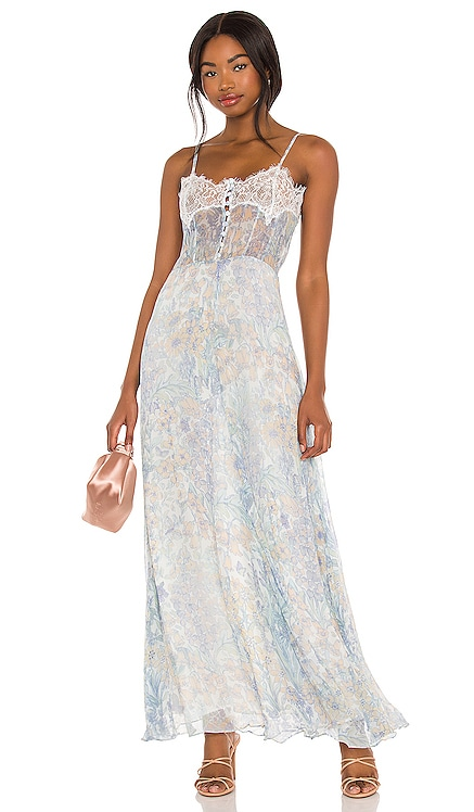 Elma Slip Dress LoveShackFancy $595