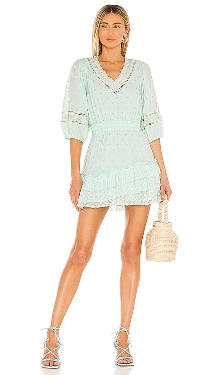 Adley Dress LoveShackFancy $385 NEW