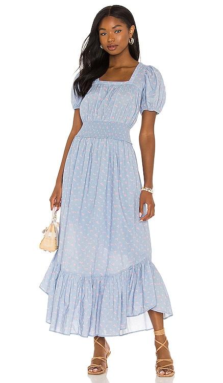 X REVOLVE Begonia Dress LoveShackFancy $475 NEW
