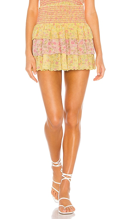 Daffodil Skirt LoveShackFancy $285