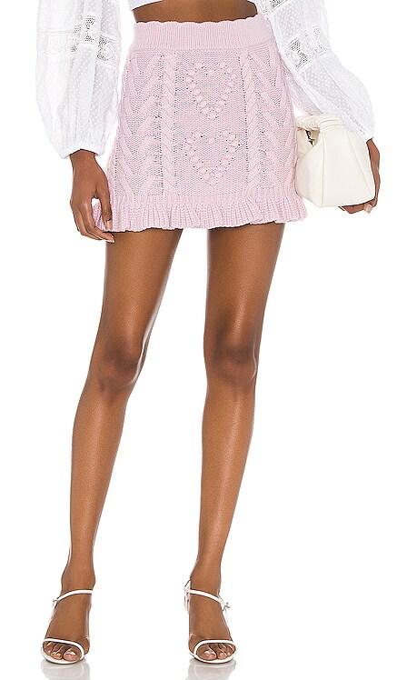 Brendana Mini Skirt LoveShackFancy $295