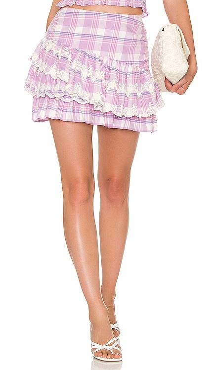 Como Skirt LoveShackFancy $295