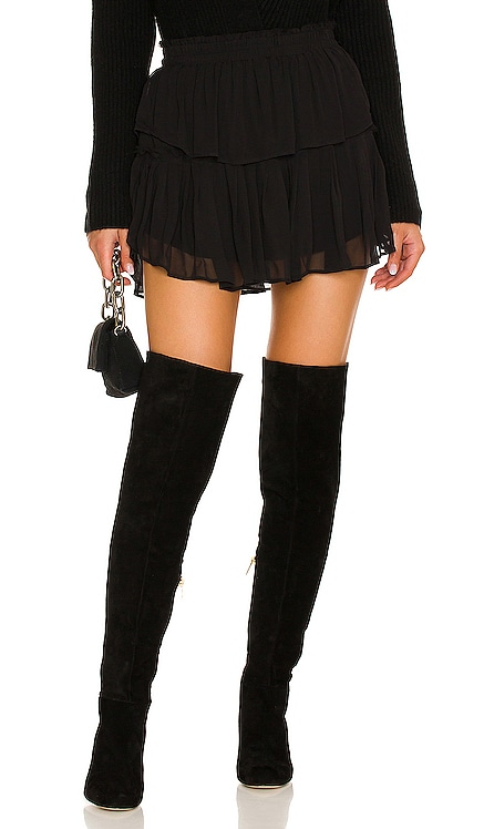 Ruffle Mini Skirt LoveShackFancy $265 NEW