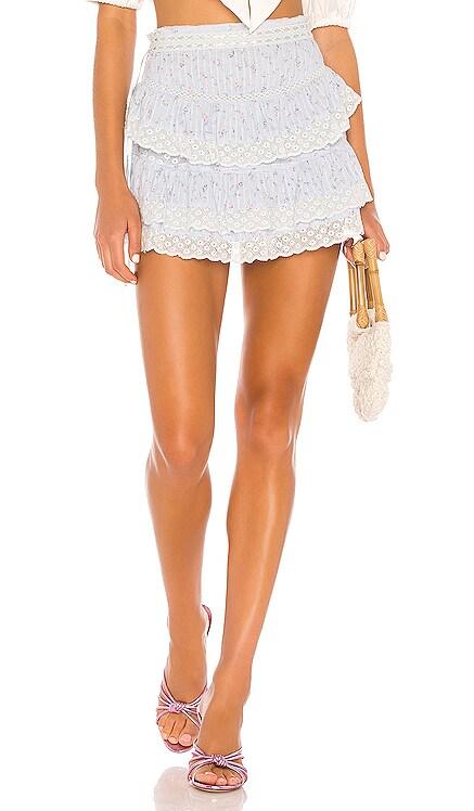Bara Skirt LoveShackFancy $285 BEST SELLER