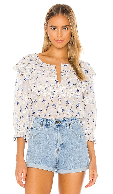 Canna Top LoveShackFancy $325 NEW
