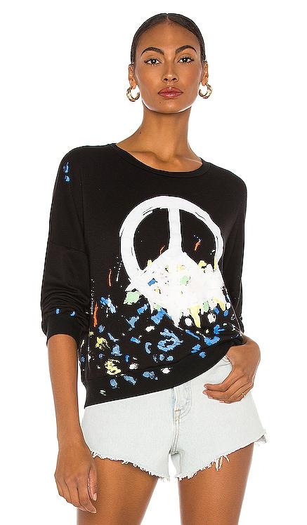 Sierra Oversized Boyfriend Pullover Lauren Moshi $189 NEW