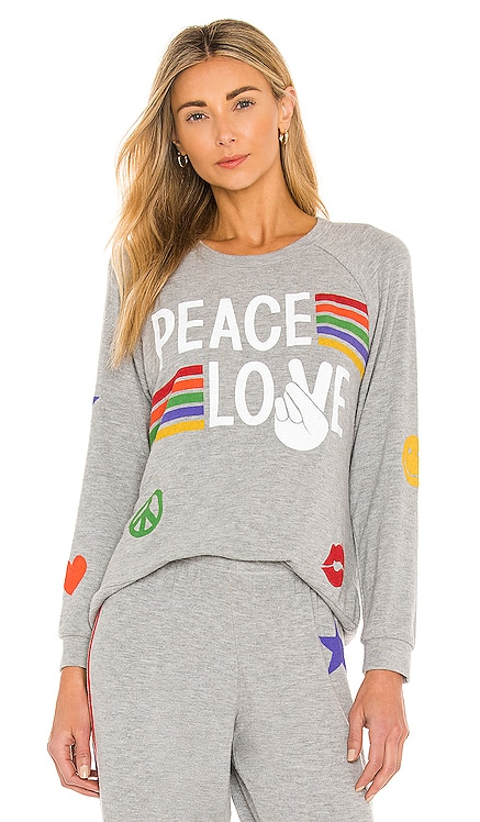 JERSEY EVERY PEACE LOVE Lauren Moshi $163 NUEVO