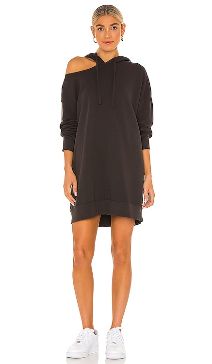 x REVOLVE Lion Hoodie Sweatshirt Dress LNA $178 NEW