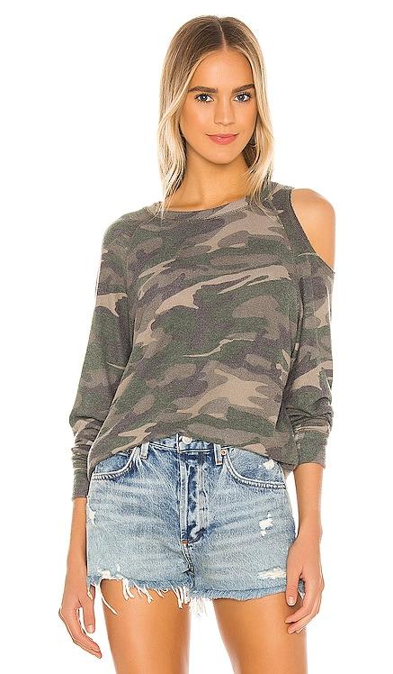 Brushed Camo Flynn Sweatshirt LNA $132 NEW
