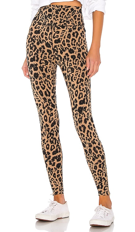 Leopard Zipper Legging LNA $134