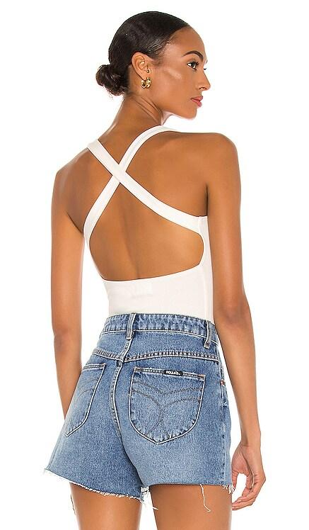 Pearl Rib Bodysuit LNA $88 NEW