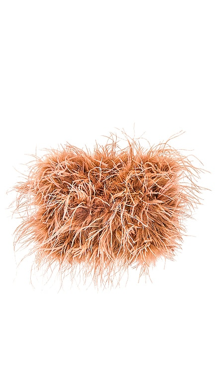 Zelda Feather Baguette Crossbody Loeffler Randall $350 BEST SELLER
