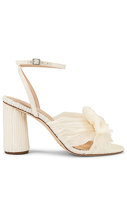 Camelia Vegan Knot Mule With Ankle Strap Loeffler Randall $395 NEW
