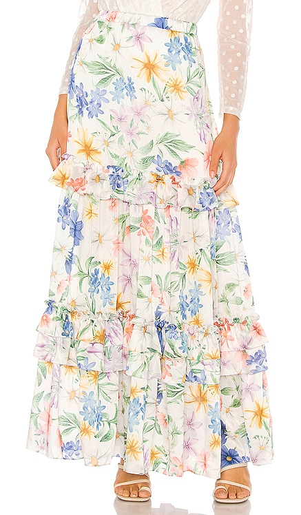 Garden Maxi Skirt IORANE $550 NEW