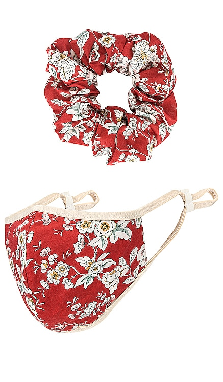 Mask Scrunchie Set Lovers + Friends $28 (FINAL SALE)