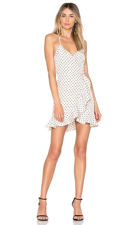 Gigi Wrap Dress Lovers + Friends $56