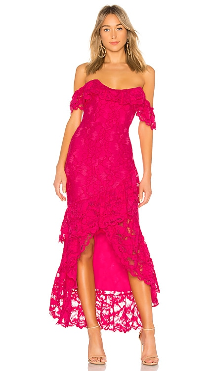 Rosewater Lace Gown Lovers + Friends $86