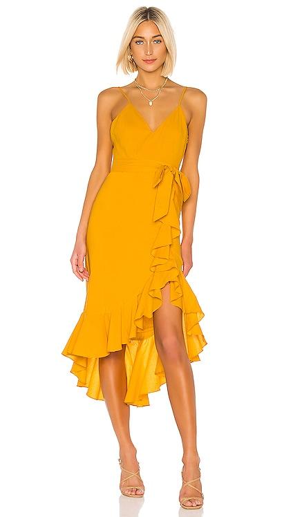 Bridget Midi Dress Lovers + Friends $95