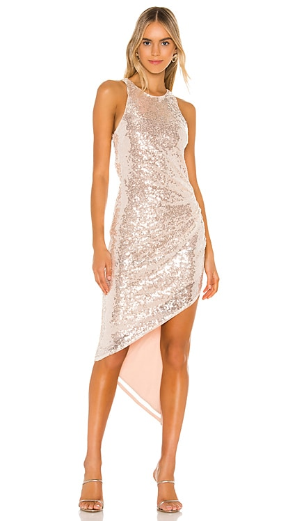 Rosalee Sequin Gown Lovers + Friends $100