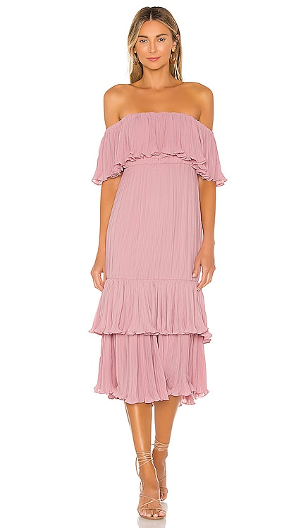 Elouise Midi Dress Lovers + Friends $248 BEST SELLER