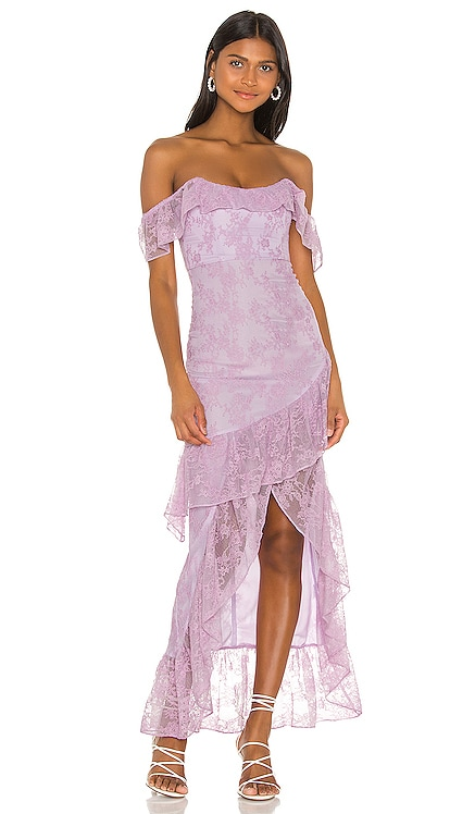 Rosewater Lace Gown Lovers + Friends $298 NEW ARRIVAL