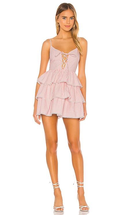 Isabeli Mini Dress Lovers + Friends $188 NEW