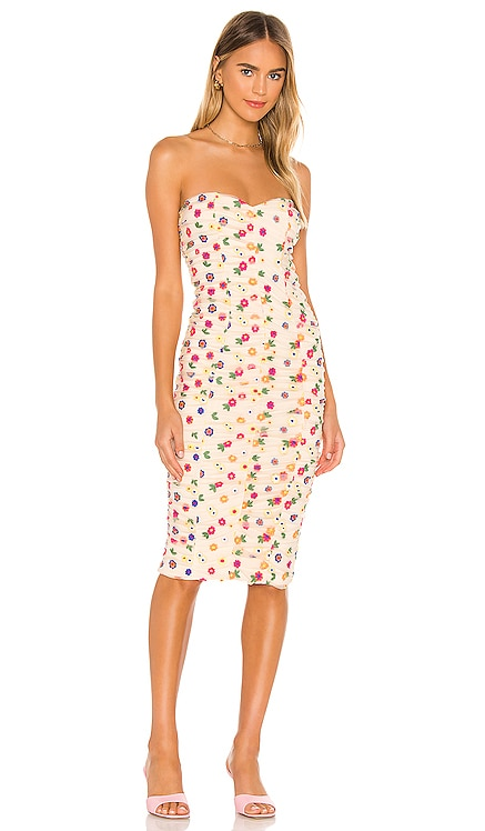 Magdalena Midi Dress Lovers + Friends $230 NEW