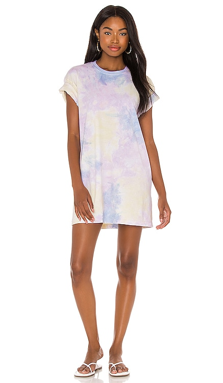 Tie Dye Tee Dress Lovers + Friends $148