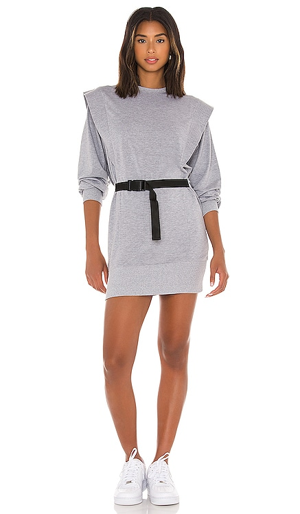 Eli Shoulder Pad Mini Dress Lovers + Friends $258 NEW