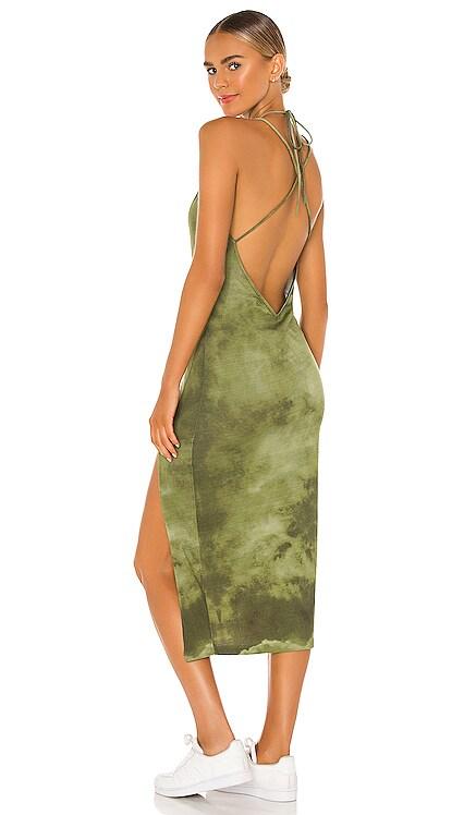 Kiki Midi Dress Lovers + Friends $218 NEW