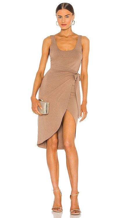 Kahlo Midi Dress Lovers + Friends $148 NEW