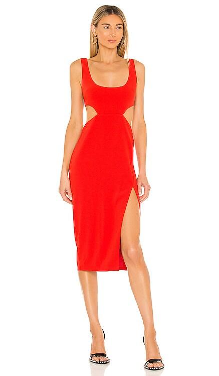 Titus Midi Dress Lovers + Friends $178 NEW